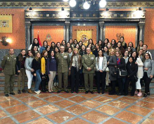 Protocolo Militar en Sevilla Asistencia a la Dirección